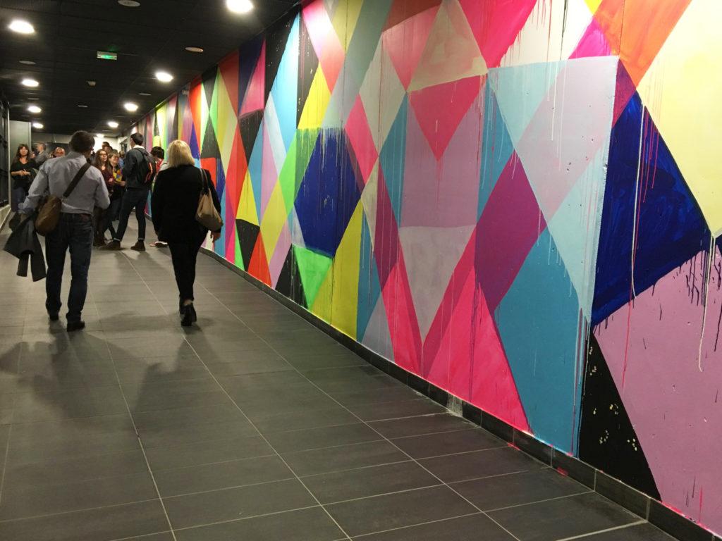 Wall Drawings 2 - Parkings LPA 1 - Une Vie à Lyon
