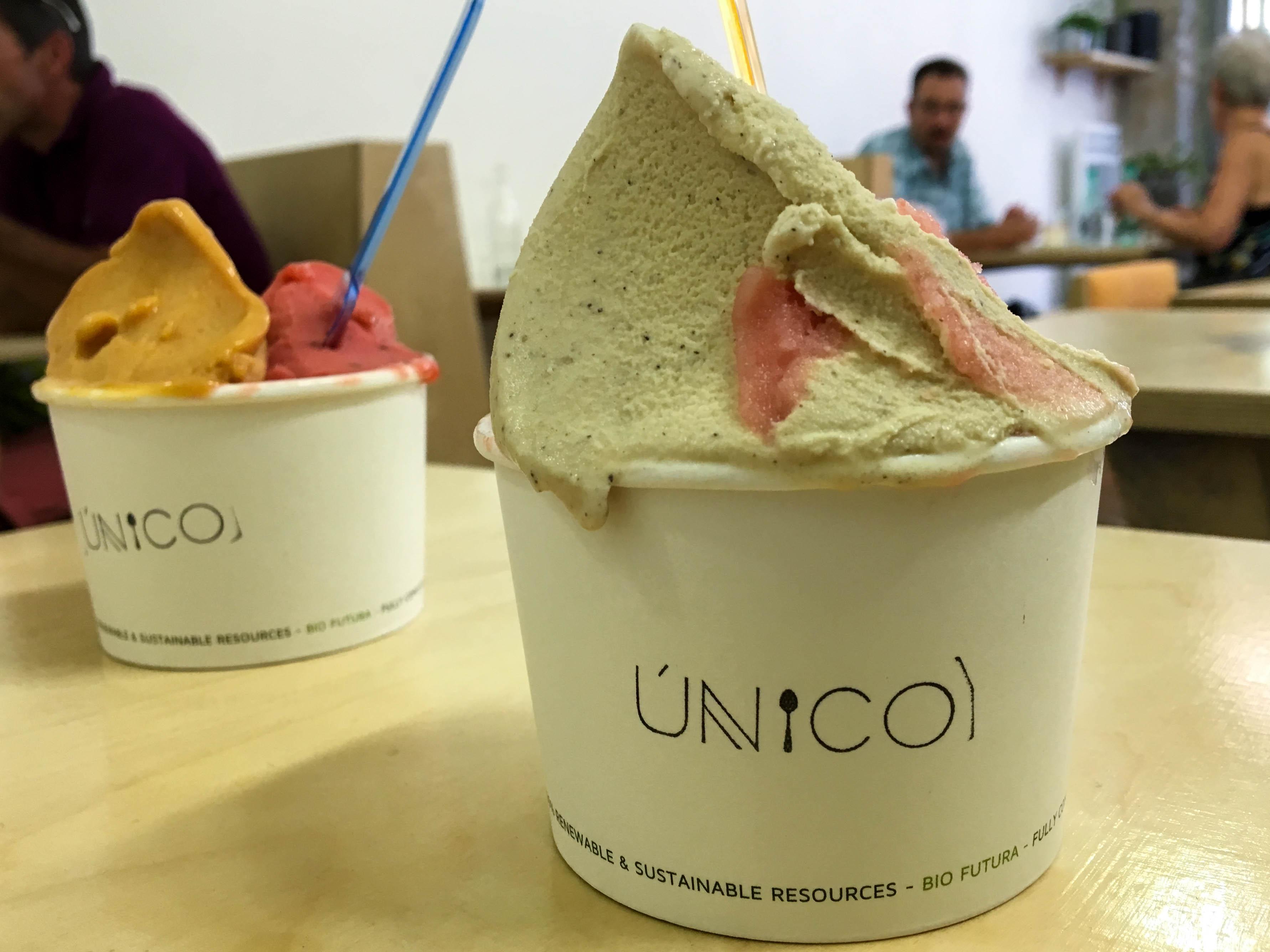 Unico - Glaces