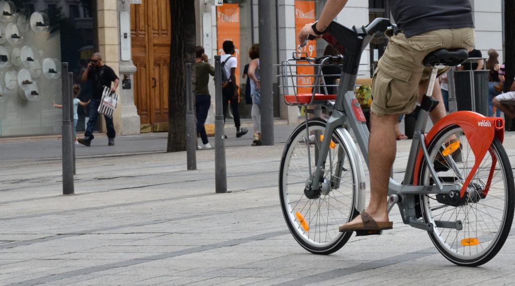 Vélo'v a République
