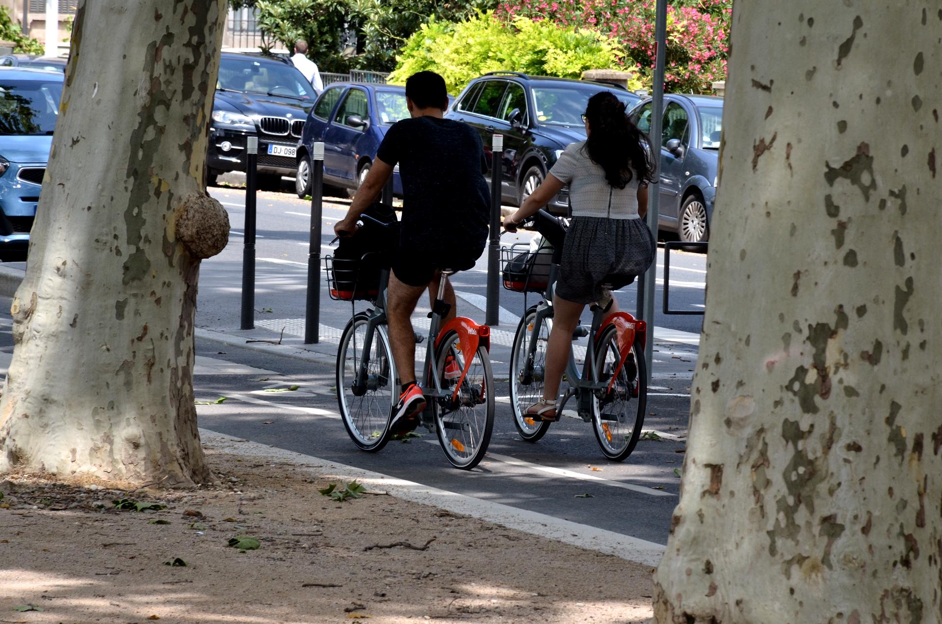 Vélo'v Berges du Rhône