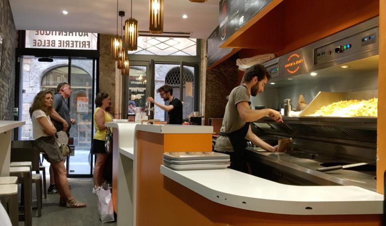 Bintje & Zoet : frites, fricadelles et poulycrocs