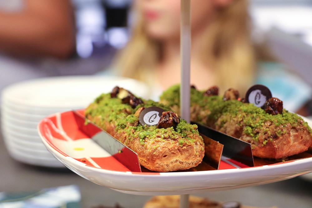 Chou le plus Chou - éclair pistache - Les Gasteliers