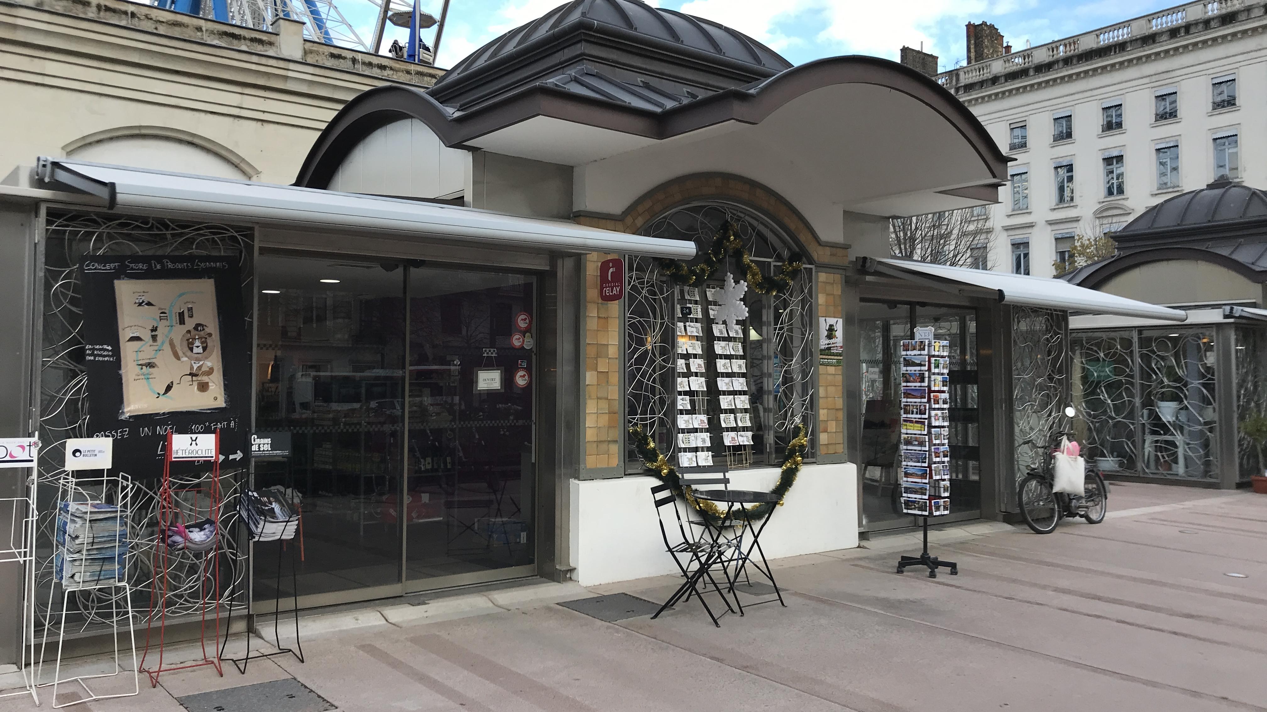 Kiosque in Lyon