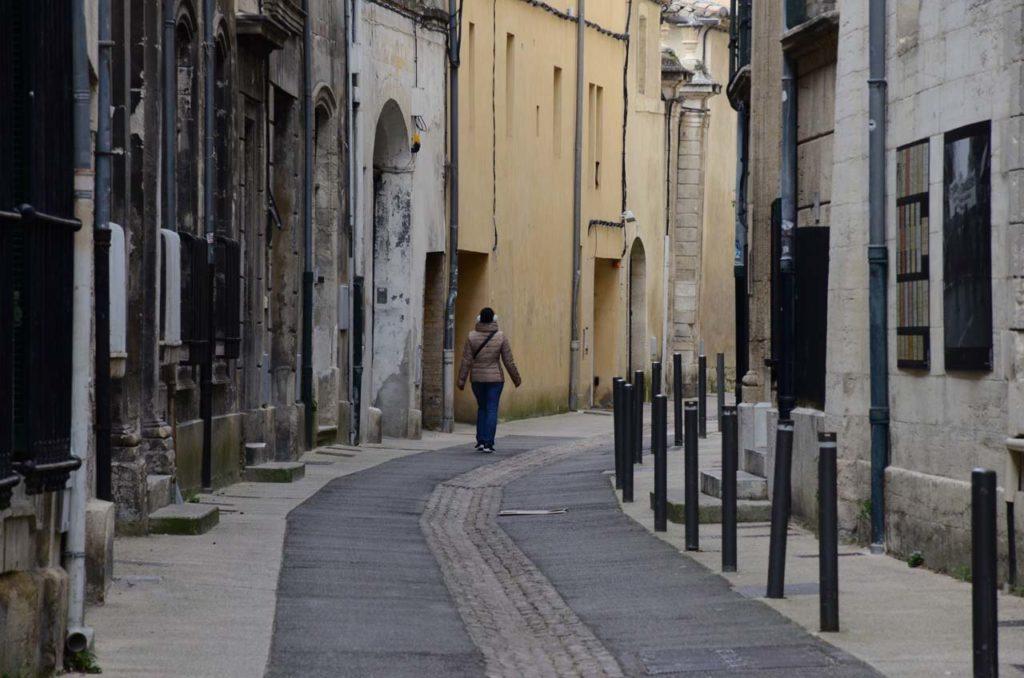 Une rue dans la vieille ville