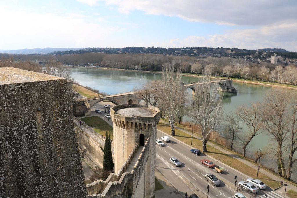Pont d'Avignon et chemin de ronde