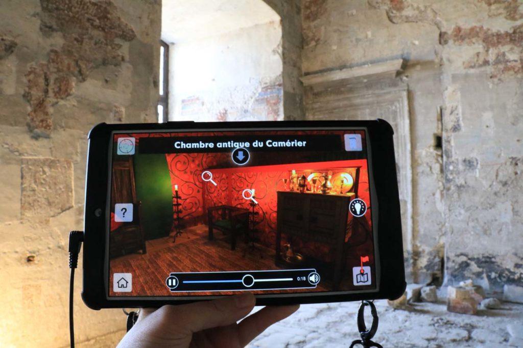 Tablette réalité augmentée Palais des Papes