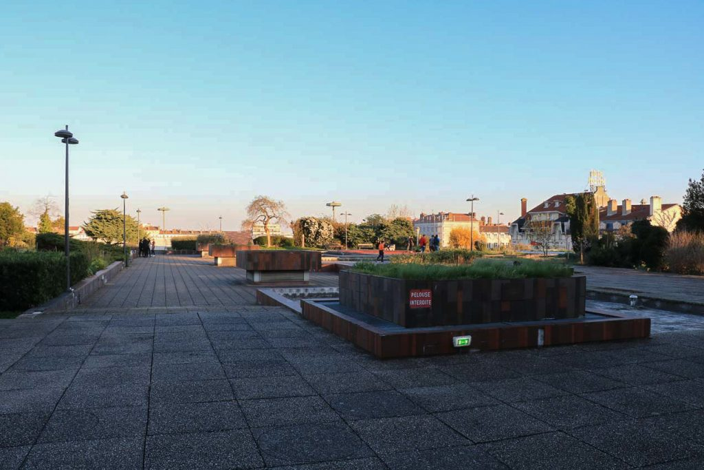 Jardins Suspendus vue générale côté Rhône