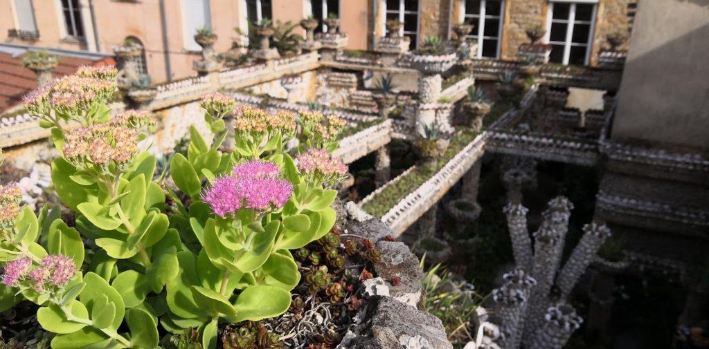 Jardin Rosa Mir, La Croix Rousse, Lyon, vue de dessus