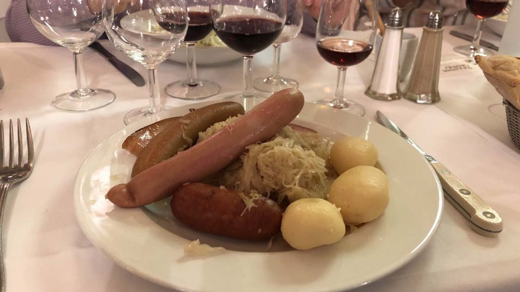 Choucroute Brasserie Georges