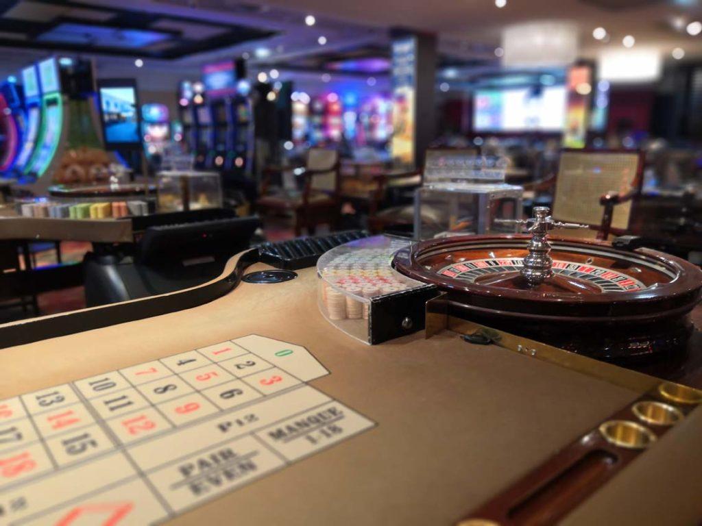 Table de roulette anglaise