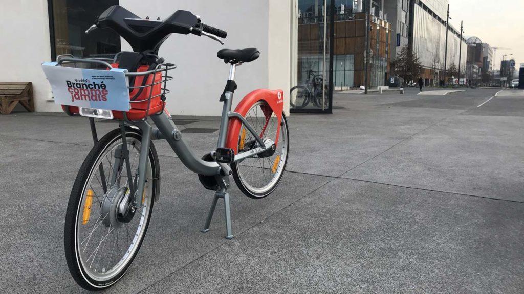 Vélo'v électrique : une silhouette élégante