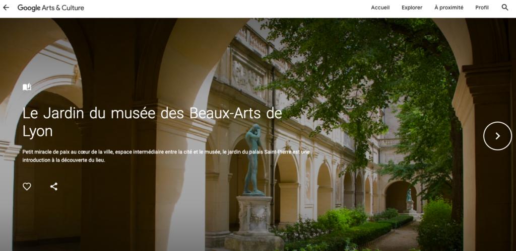 Jardin du Musée des Beaux Arts de Lyon