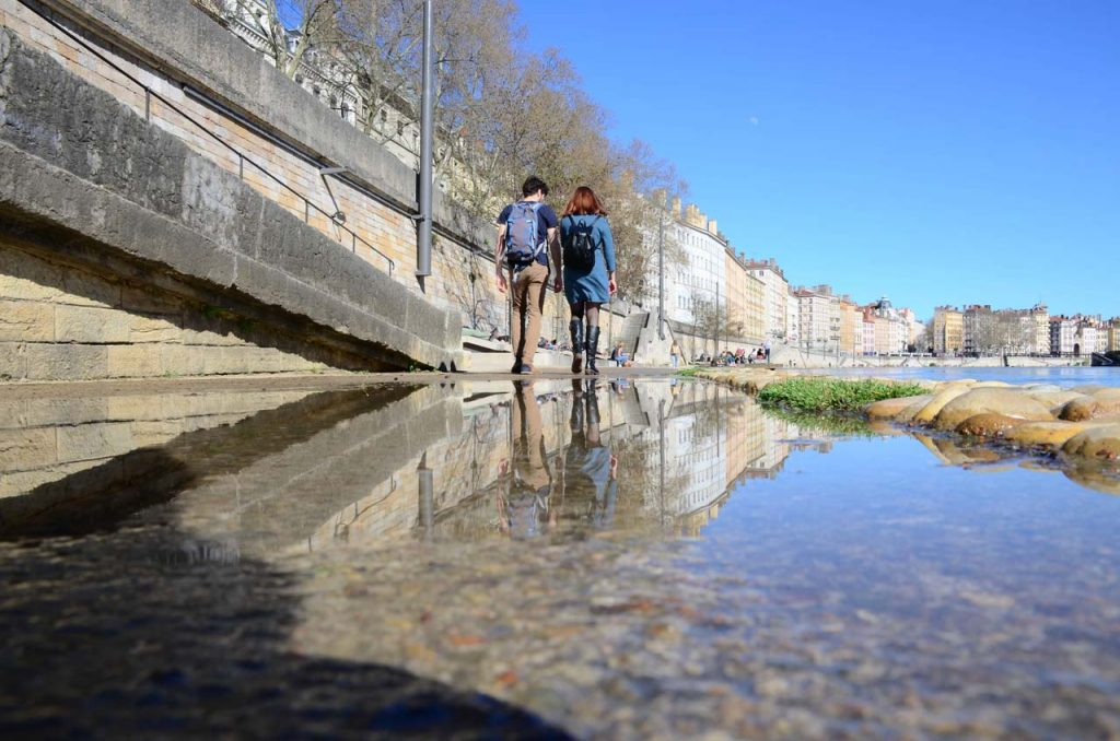 Balade sur les rives de Saône