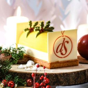 Bûche de Noël So Fresh par Délice des Sens