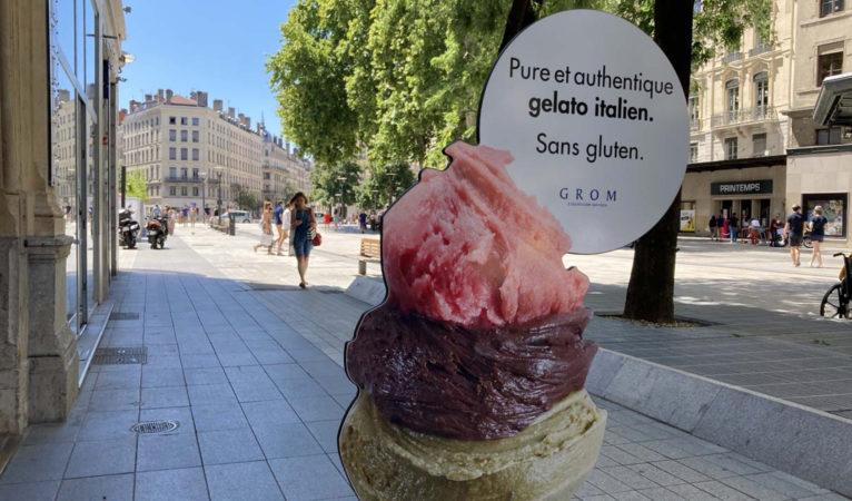 Grom : la très grande glace débarque à Lyon