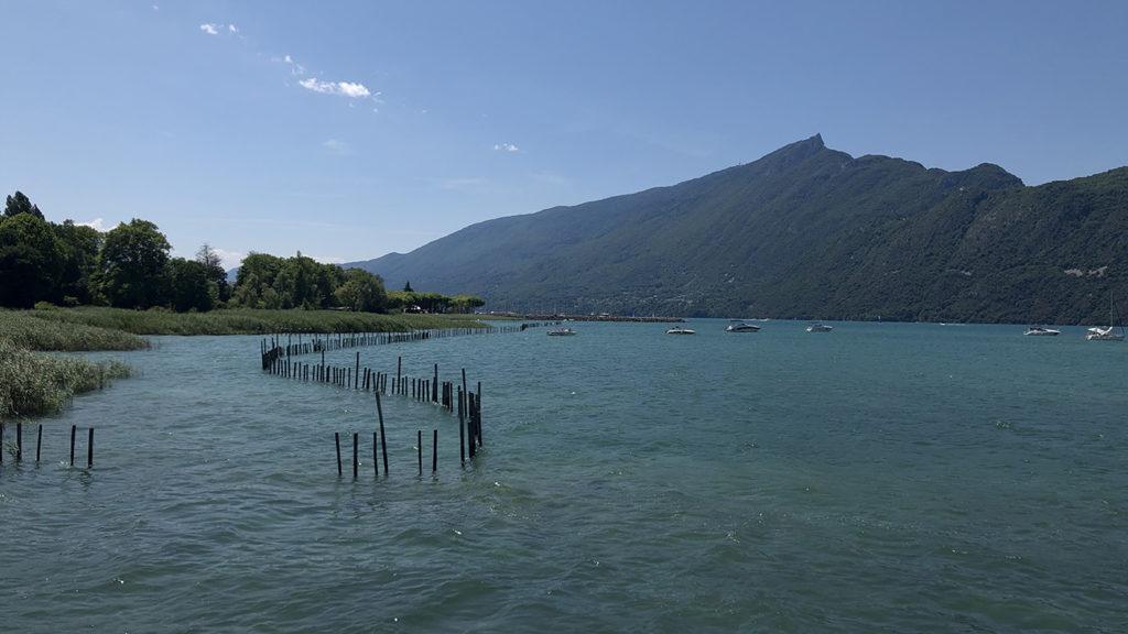 Le Lac du Bourget côté nature