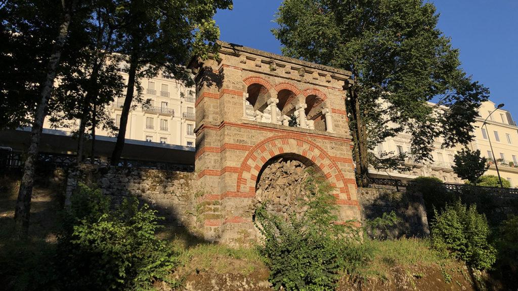 Traces romaines d'Aix Les Bains