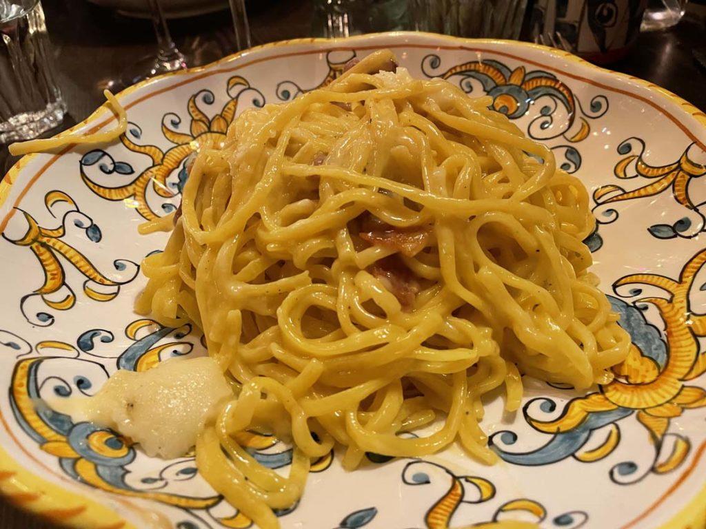 Pasta bianca chez Carmelo à Lyon